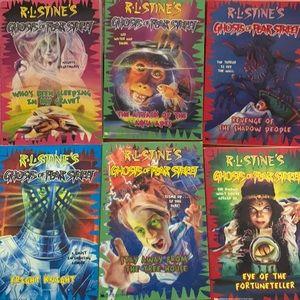 RL Stine books